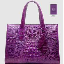 ouluoer Real crocodile  Thailand new luxury women handbag is a bag of real crocodile  leather women bags