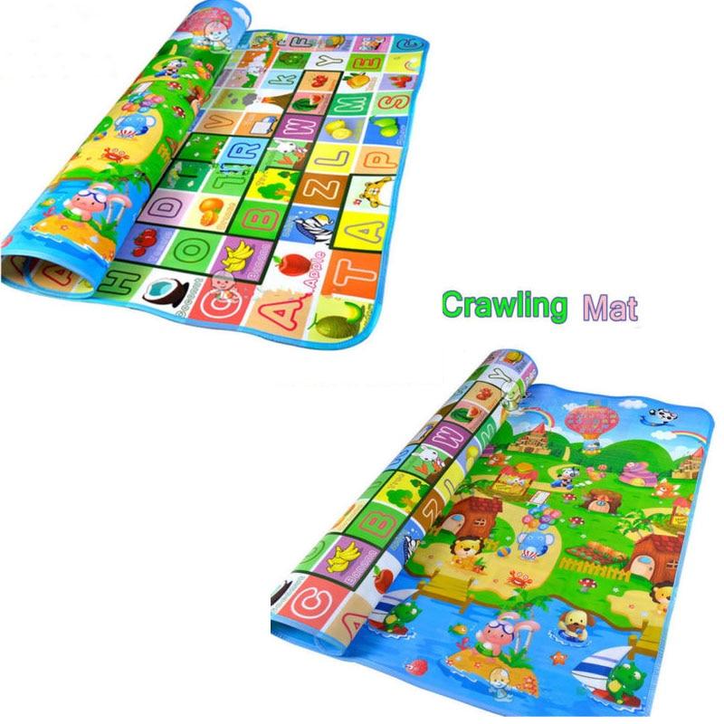 2019 Hot Sale Toddler Crawl Play Game Picnic Carpet Letter Farm Mat Hot Farm Mat Outdoor Picnic Toddler Crawling Mat