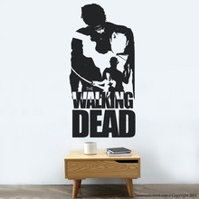Free Shipping Walking Dead Wall Decal Modern Home Sticker Decoration GW-25