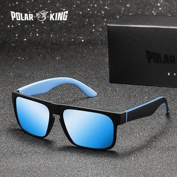 12d4730208 POLARKING Brand Men Fashion Polarized Sunglasses Men s Plastic Square  Driving Eyewear Travel Sun Glasses Oculos de sol