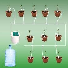 Семейный сад автоматическое устройство орошения капельного умный таймер уход ирригационный контроллер системы полива цветов 35