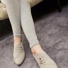 2017 New Spring Casual Women Shoes Women Nubuck Leather lace