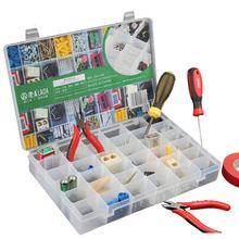 LAOA PP 36 grids Free shipping Storage Box Transparent Plastic Jewelry Parts Case