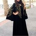 Вышивка Черный Дубай Абая Женщин Вечернее Платье С Болеро Вечернее Платье Арабский Двух Частей Пром Платья Vestido Лонго Платья Партии