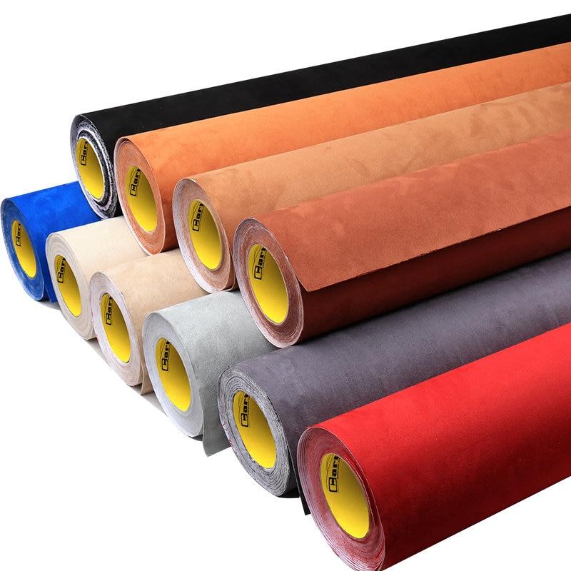 Carbins самоклеющиеся ткани для стайлинга салона автомобиля, меняющая цвет ткань для крыши, хорошо тянущаяся 1,42*1 метр
