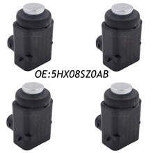 4PCS PDC Parking Sensor For 2005-2008 Jeep Grand Cherokee Chrysler 5HX08SZ0AB 5HX08SZ0-AB 695-301, SU8597, 72-9000, 7-306592