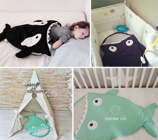 Shark Pillow Sleeping Bag aliexpress : buy discount! shark baby sleeping bag winter