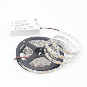 Image 3 - Умная Светодиодная лента Zigbee ZLL 5 М 5050 SMD Link, комплект светодиодных лент, контроллер ZIGBEE RGBCCT, RGBWW, водонепроницаемая электронная лента IP65, DC 12 В
