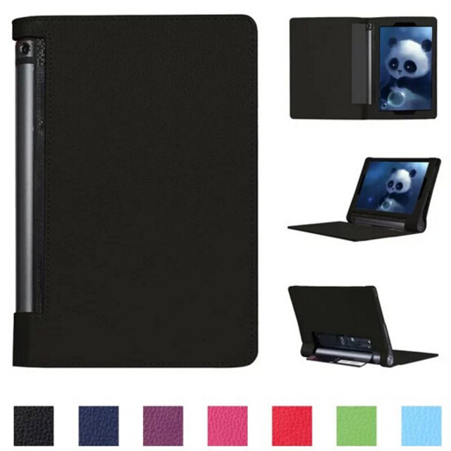 """Luxury Magnetic Folio Stand Holder Leather Skin Case Protective Cover For Lenovo Yoga Tab 3 Pro 10 X90 YT3-X90F/M/L 10.1"""" Tablet"""