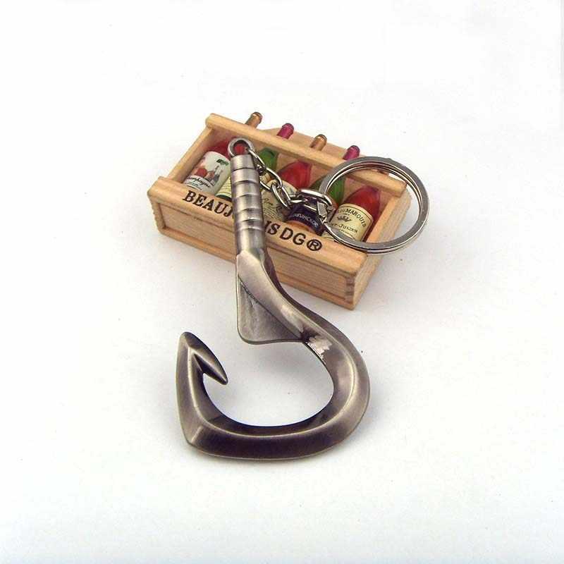 Juego caliente Dota 2 Pudge gancho abridor de botellas llavero regalos de navidad Dropshipping