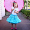 Fashion popular girls skirts tutu pettiskirt tutu skirt  child Sky Blue Girl Clthing FREE SHIPPING