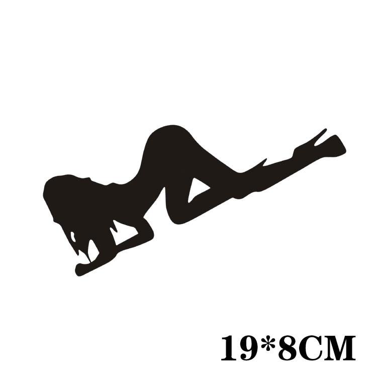 Aliauto Светоотражающие смешно автомобилей Чехлы для мангала секс девушка весь Средства ухода за кожей Стикеры и этикета для Ford Focus 2 Kia VW Гольф 7...