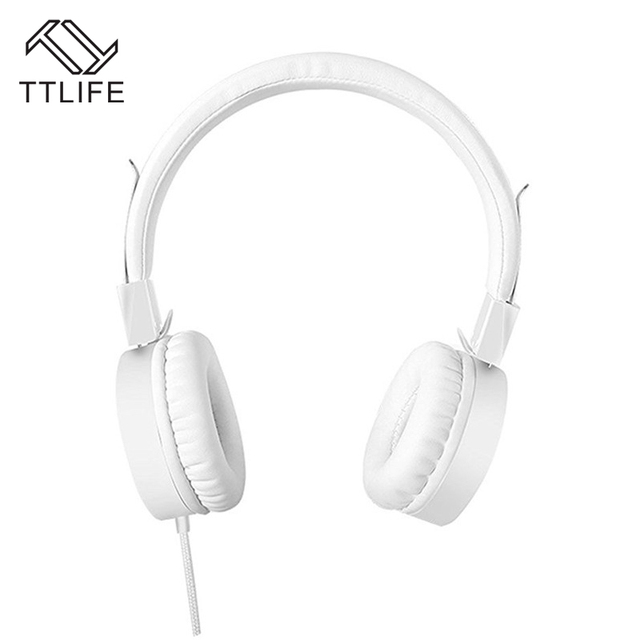 Ttlife Brand 3 5mm Headset Volume Control Earphone Super Bass Wired
