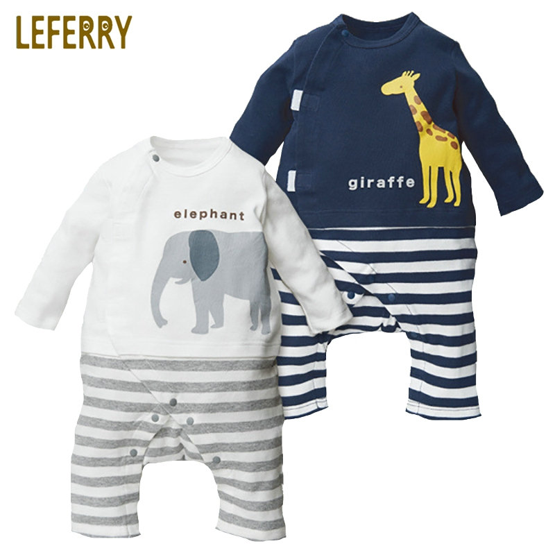 Baby Clothes Newborn Infant Clothing Cotton Knitted Baby Rompers Long Sleeve Toddler Boy Clothes Baby Girl Romper 2018 wasailong newborn baby boy clothes infant romper long sleeve flower print baby girl rompers jumpsuit pajamas baby clothing
