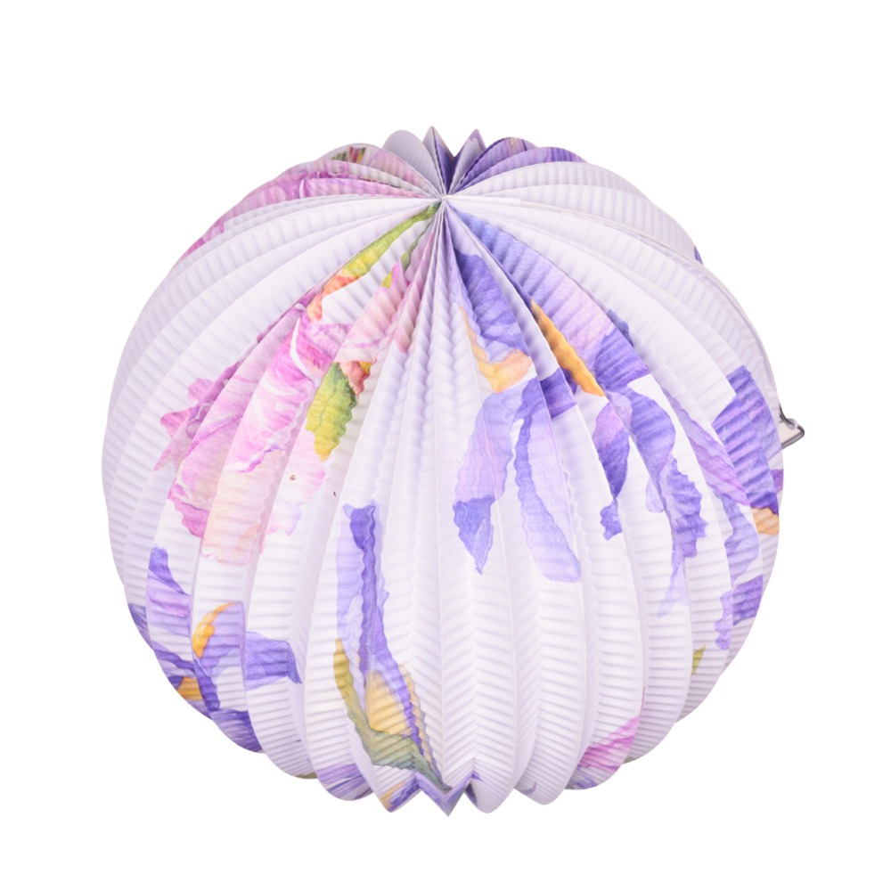 aliexpress com buy 23cm navy accordion pleated paper lanterns