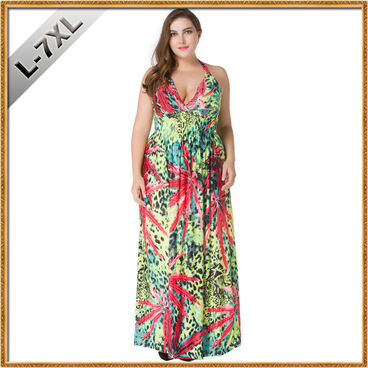 New summer womens dresses print plus size bohemian party dresses maternity dresses pregnant clothings summer beach clothes 7131