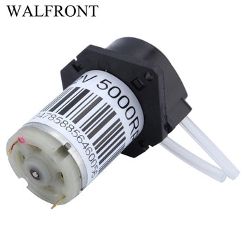 DC 12V Dosing Pump Small Peristaltic Pump dosing Head Liquid Water Micro Tubing DC Pump For Aquarium Lab Analytical compact portable dosing peristaltic pump for laboratory microfluidic chemicals