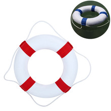 Детский спасательный круг из цельной пены, двойной слой, утолщенный спасательный поплавок, пляжные вечерние, морская яхта, плавающий круг