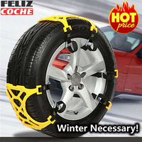 Car Snow Chains Universal Car Suit For 165 265mm Tyre Winter Roadway Safety Tire Chains Snow