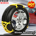 Car Snow Chains Universal Car Tyre Chain Winter Roadway Safety Tire Chains Snow Climbing Mud Ground Anti Slip Winter Chain A6018