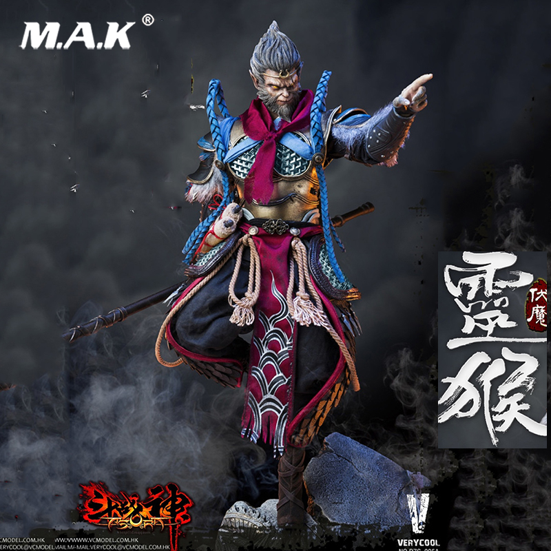 VERYCOOL  DZS-005 1/6 Dou Zhan Shen Series Monkey King  Action Figures Full Set doll toy Colletible with box