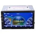 7 pulgadas 800*480 Pantalla Táctil de Coches Stereo 2DIN Android HD Reproductor de DVD GPS Función de Estados Unidos mapa + 8G Tf con Mando a distancia