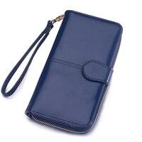 Women Wallet Card Holder Long Female Purse Coin Leather Wallet Phone Wallet Clutch Bag Money Pocket