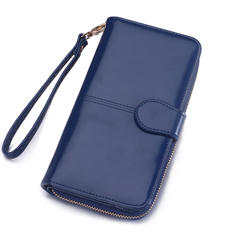 Women Wallet Card Holder Long Female Purse Coin Leather Wallet Phone Wallet Clutch Bag Money Pocket Wristlet Brand Logo Design