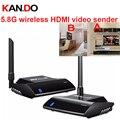 580 HDMI 5.8 GHz IR Extender Remoto 300 m HDMI AV Transmissor Sem Fio & Receptor Compatível com HDTV DVD, DVR, câmera CCD