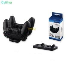 50 шт. 2 в 1 двойной зарядки зарядное устройство для док-станции для sony PS3 PS4 Беспроводной контроллер/PS3 PS4 контроллер Playstation 3 4