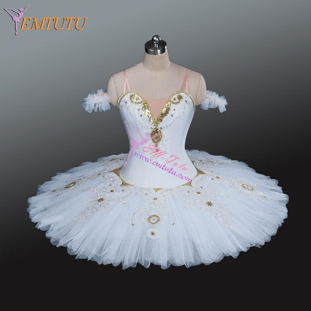 White Gold Professional Ballet Tutu Classical Ballet Tutus