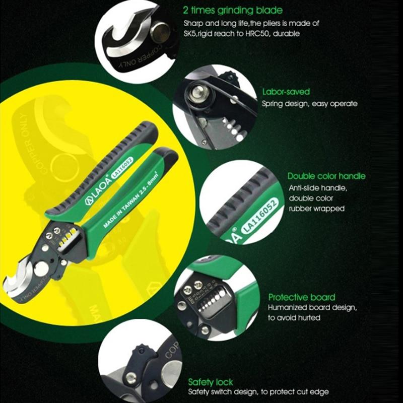 LAOA Stripper de sârmă de cablu de înaltă calitate SK5 Material 3 - Unelte de mana - Fotografie 4