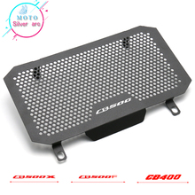 Motorcycle  Radiator Guard Grille Oil Cooler Cover For HONDA CB500X 2013-2019 CB500F 2013-2015 CB400F/X