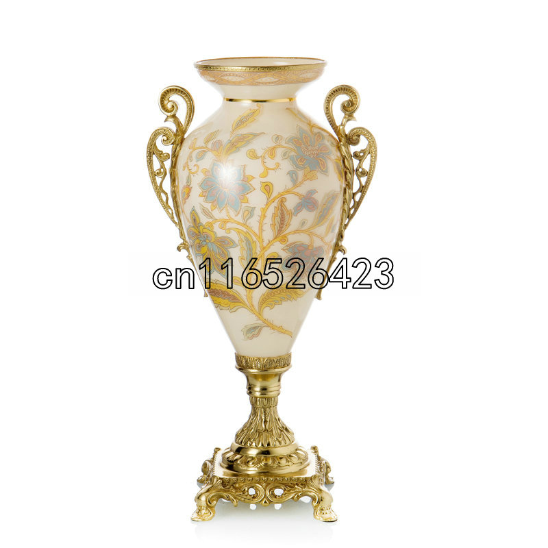 Classical Decoration Vase Luxury High End Ornaments Living