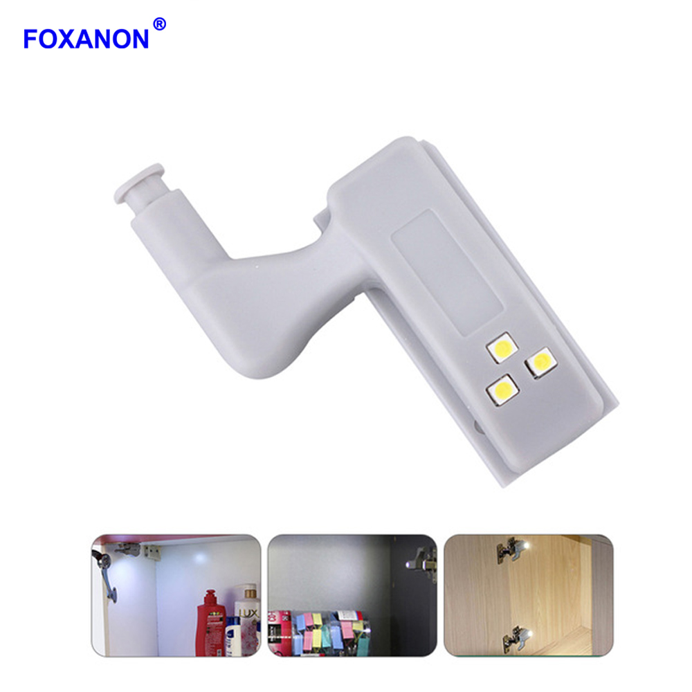 Foxanon Universal LED Under Cabinet Light Cupboard Inner