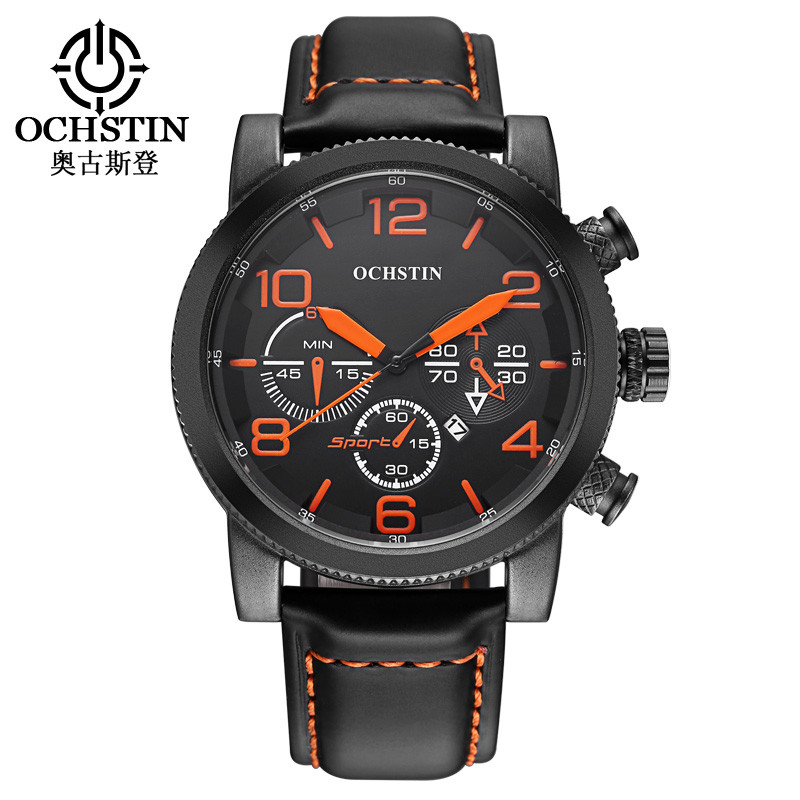 OCHSTIN Wrist Watches Mens 2017 Top Brand Luxury Fashion Quartz Men Watch Male Clock Waterproof Sports