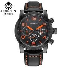 Ochstin poignet montres hommes 2017 top marque de luxe de mode quartz hommes montre homme horloge étanche sport montres relogio masculino