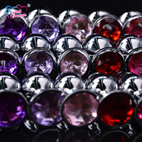 Sweet Dream 3pcs Set Metal Anal Plug Small Medium Large Stainless Steel Anal Beads Adult Sex