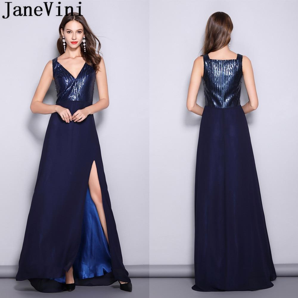 Navy Blue Dresses For Wedding Long Saddha