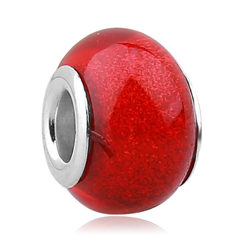 perle murano rouge pandora