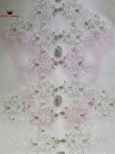 Image 5 - Mẫu Thật Đầm Vestido De Noiva 2020 Bầu Người Yêu Voan Ren Pha Lê Đính Hạt Sang Trọng Váy Áo Dài Tàu KA04M