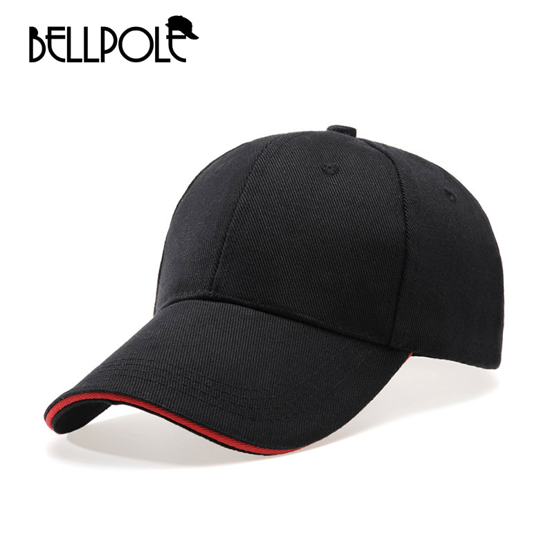 BELLPOLE 2017 New Baseball Cap Snapback Casual Solid Color Hat For women Men Hockey dad polo gorras bone casquette Truck hat 2016 new new embroidered hold onto your friends casquette polos baseball cap strapback black white pink for men women cap