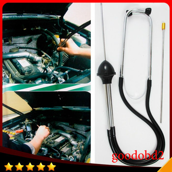Delicate Car Engine Block Mechanics Stethoscope  Auto Repair tools Engine Analyzer Car Cylinder Engine Diagnostic Test Tool auto air conditioner leak test service r134a for japanese car europe car ac a c leaking repair test tools device