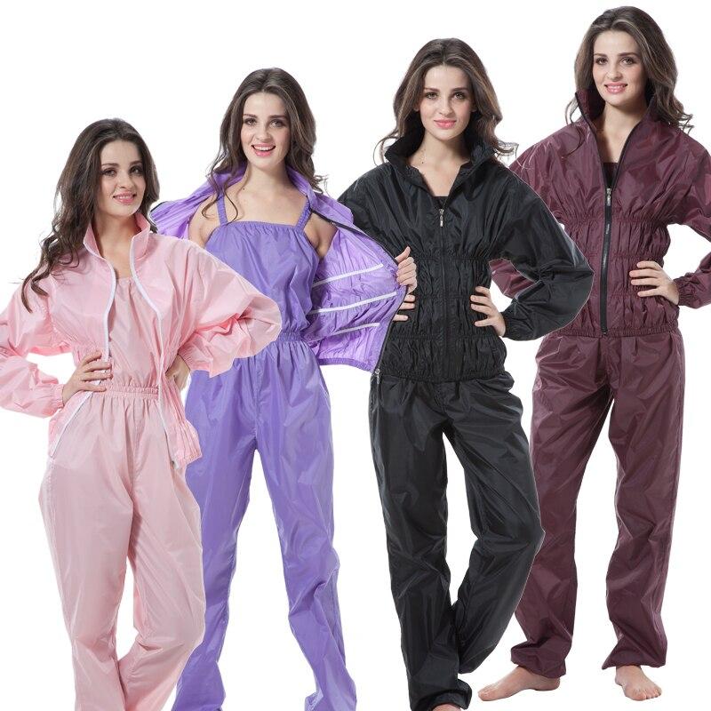 Wanita Wanita Gim Gim Sauna Seluar Baju Set Wanita Kecergasan Berat Badan Aerobik Pakaian Seluar Pelangsingan Berat Weight Sauna Set Saman