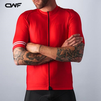 NEW Breathable Mountain 2018 Pro Mens Cycling Jerseys Quick Dr Short Sleeve Cycling Clothing Sportswear Red