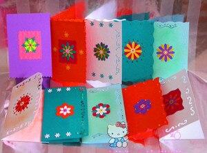 Image 2 - 20 stks/partij Creative Embossing card craft foam papier Punch Diy Puncher voor Kaarten maken Scrapbooking