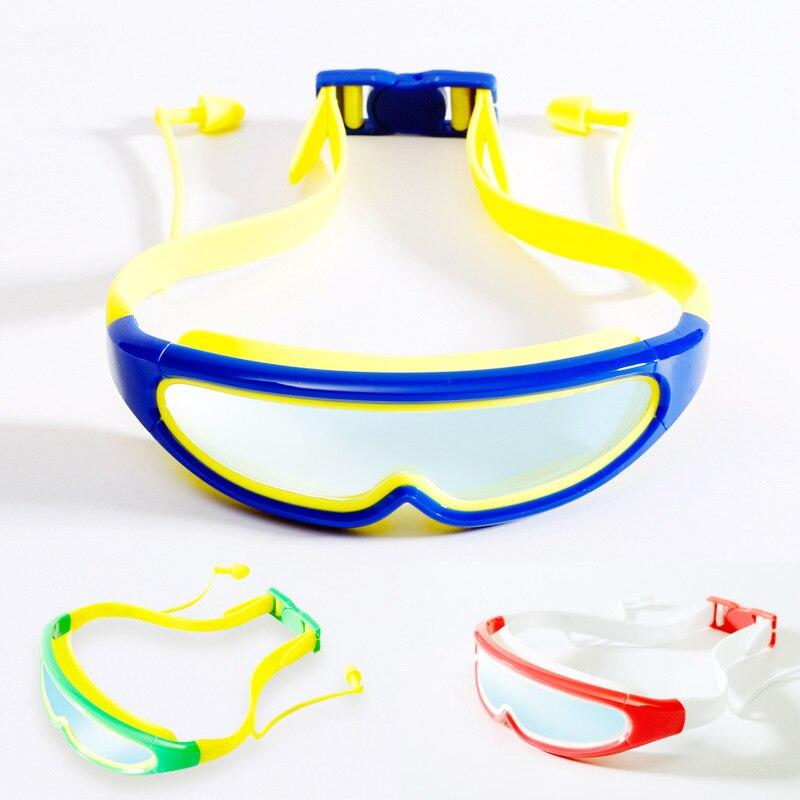 70b80d77fabd Máscara de buceo profesional para niños Anti-niebla gafas de natación  impermeables niños gafas de natación para deportes acuáticos buceo bajo el  ...
