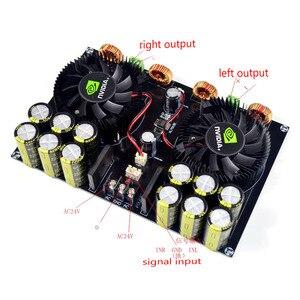 Image 4 - KYYSLB TDA8954 420W + 420W 2,0 Class D Digital Power Amplifier Board (Lüfter Kühlung) AC12.5V zu AC26V Verstärker Bord