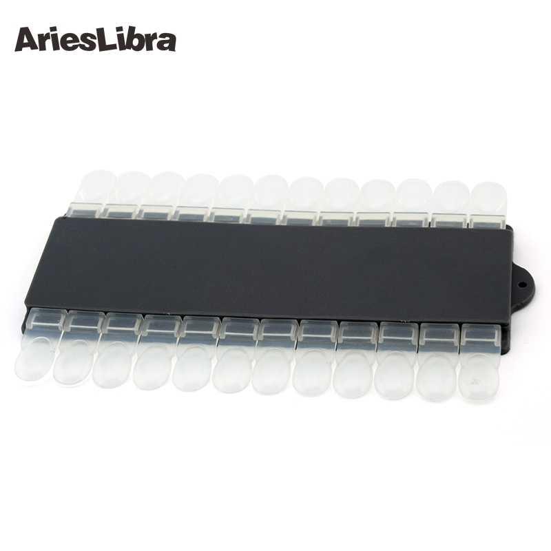AriesLibra 24 наконечника съемный лак для ногтей дисплей прозрачная схема для ногтей гель цветной дисплей инструмент демонстрационная подставка
