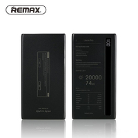 REMAX Power Bank 20000 Mah Portable Phone Battery Charger Dual USB Batterie Externe With Led Light